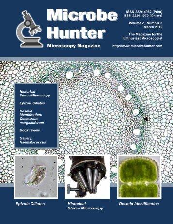 Microbehunter (March 2012) - MicrobeHunter.com