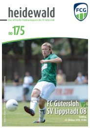 FC Gütersloh vs. SV Lippstadt 08