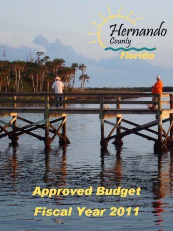 FY 2011 Approved Budget - Hernando County