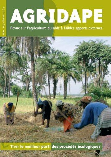 Mars 2007 - Volume 22, n°4 - IED afrique