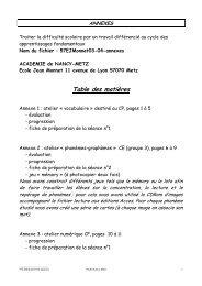 Annexes - Académie de Nancy-Metz