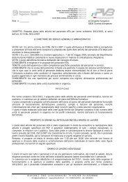 Proposta piano delle attività del personale ATA per - Polo Valboite