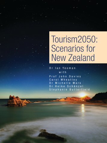 Tourism2050: Scenarios for New Zealand
