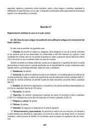 Sección 5.a Reglamentación detallada de usos en el suelo ... - AMB