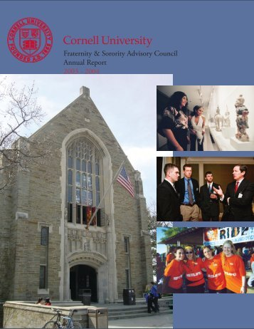 2003 - 2004 - Office of the Dean of Students - Cornell University