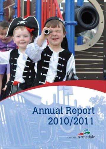 Annual Report 2010 - 2011 (PDF 3.15 MB) - City of Armadale