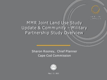 MMR Joint Land Use Study Update & Community – Military ...