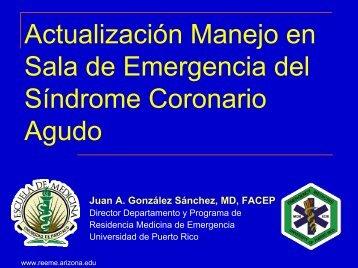 Síndrome Coronario Agudo - Reeme.arizona.edu