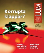 LUM nr 11 - 19 december (PDF 3,5 MB - Nytt fönster)