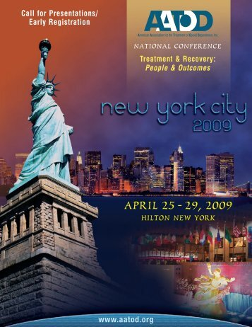 2009 Call for Presentation – Early Registration Brochure - aatod
