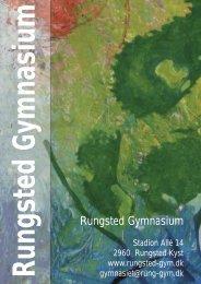 Naturvidenskabeligt grundforløb - Rungsted Gymnasium