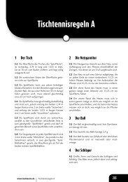 Regeln DTTB11 - BTTV - Schiedsrichter
