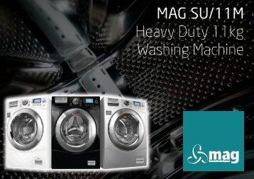 Full auto electric washing machine model ess119 ess159 mag su11m heavy duty 11kg washing machine sciox Images