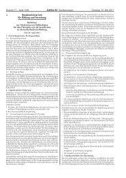 Richtlinie zur Förderung von Maßnahmen für den ... - ANKOM