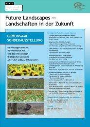 Future Landscapes — Landschaften in der Zukunft - Archäologisch ...