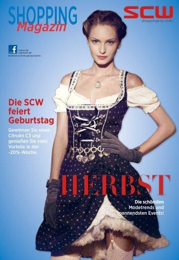 HERBST Magazin Die schönsten - Shoppingcity Wels
