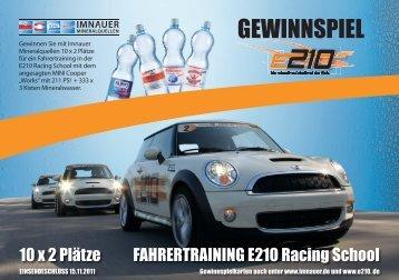 GEWINNSPIEL - E210