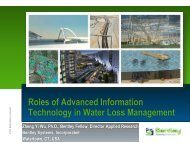 Roles of Advanced Information Technology in ... - Iwa-waterloss.org