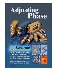 Phase Adjustable Adapters - Spectrum Elektrotechnik GmbH