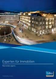Experten für Immobilien - Colliers International Zurich