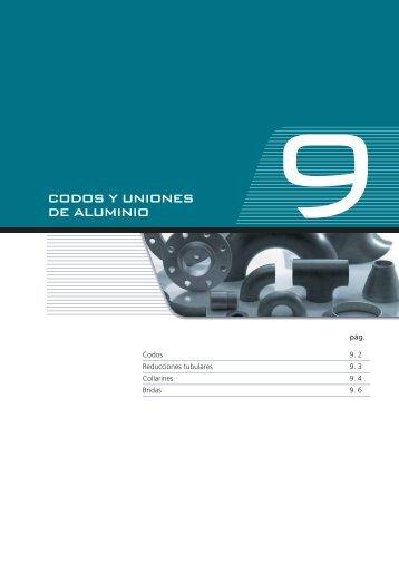 CODOS Y UNIONES DE ALUMINIO - Alu-Stock