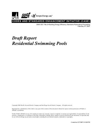 Swimming pool inspection reports show frequent sanitation for Residential swimming pool inspection