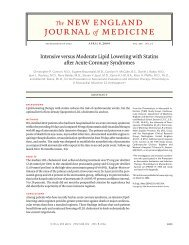 Intensive versus Moderate Lipid Lowering with Statins after Acute ...