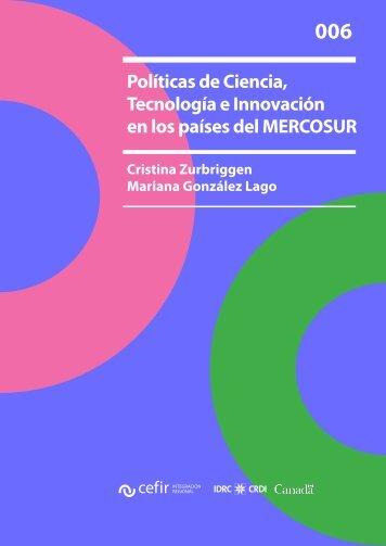 Políticas de Ciencia, Tecnología e Innovación en los países ... - CEFIR