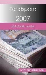 Fondspara 2007_070108.indd - Folksam