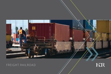 HDR Freight Railroad Services Brochure - HDR, Inc.