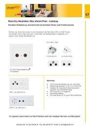 RenoWay Neuheiten: Hier stimmt Preis - Leistung - Zidatech AG
