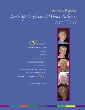 LCWR Annual Report 2008.indd