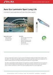 Aura Eco Luminaire Sport Long Life - Aura Light