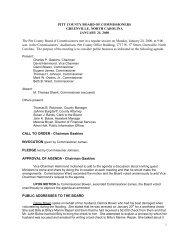 January 24 - Pitt County Government