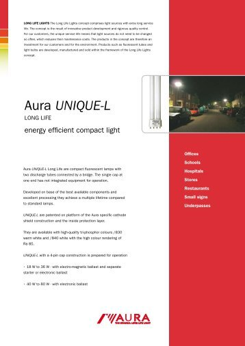 Aura UNIQUE-L - Aura Light