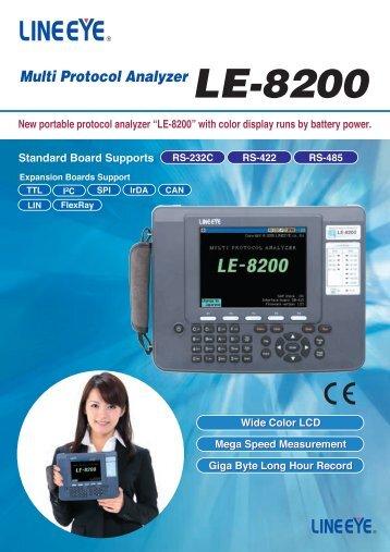 LE-8200 - TR instruments