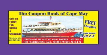 The Coupon Book of Cape May The Coupon Book of The Wildwoods
