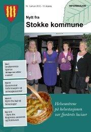 Nr. 1 Januar 2012 - Stokke kommune