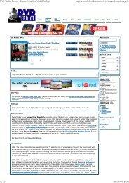 DVD Verdict - The Escape From New York & LA Page - A Tribute to ...