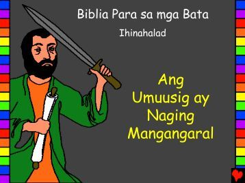 From Persecutor to Preacher Tagalog - Bible for Children