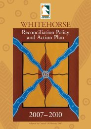 2004 – 2008 Council Plan - City of Whitehorse