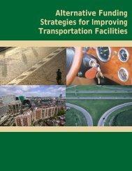 Alternative Funding Strategies for Improving Transportation Facilities
