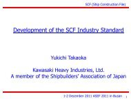 Presented as a reference only - ASEF - Asian Shipbuilding Experts