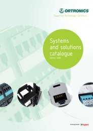 Systems and solutions catalogue