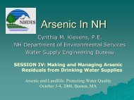 Arsenic In NH - Harvard University Department of Physics