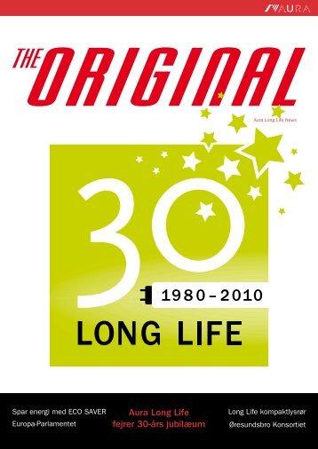 Long Life-lysstofrørenes lange levetid gør at vi kan undgå - Aura Light