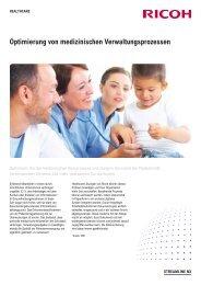 Optimierung von medizinischen Verwaltungsprozessen - Ricoh