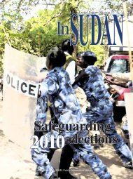 Safeguarding elections - UNMIS