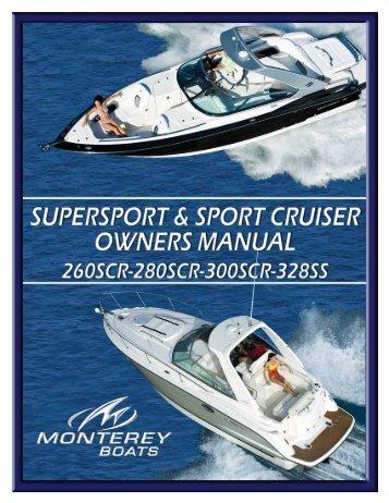 Cruiser - Monterey Boats