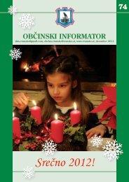 Obcinski informator st. 74 - Občina Vransko